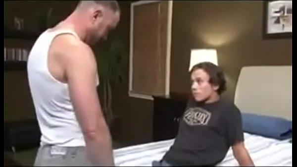 Aggressive Daddy fucks twink